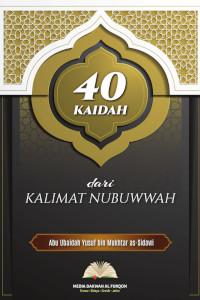ebook 40 kaidah